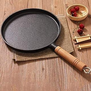Stekpanna Förtjockad Non-Stick Stekpanna Tårta Pannkaka Crepe Maker Flat Pan Griddle Frukost Omelett Bakpannor Non-Stick (...