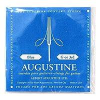 AUGUSTINE BLUE 3弦 クラシックギター弦 バラ弦×2本