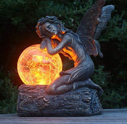 Felicity Solar Fairy - Garden Fairy Ornament/Statue …