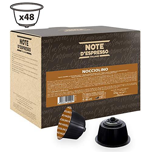 Note D'Espresso Hazelnut Instantkapseln, ausschließlich Kompatibel mit Nescafé* und Dolce Gusto* Kapselmaschinen 12g x 48 Kapseln