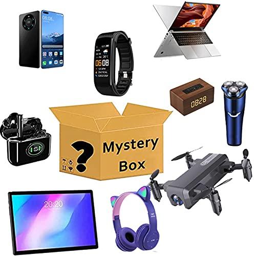 Xin Yan Caja Sorpresa,artículo Misterioso,Caja Misteriosa (Caja De La Suerte) Últimos Teléfonos Móviles, Drones, Relojes Inteligentes,etc, Todo Es Posible (Aleatorio)