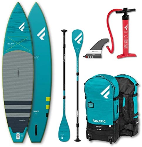 Fanatic Sup Gonflable Ray- Stand Up Paddle Boarding Ray Air 11';6' Stand Up Paddle Boarding Package...
