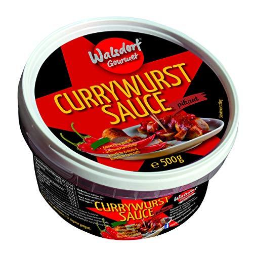 Walsdorf Gourmet Currywurst Sauce – Curry-Ketchup – Currysauce – Currywurstsauce – 500 g – ohne Konservierungsstoffe