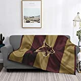 Texas State University Blanket Ultra Soft Micro Blanket Super Soft Lightweight Blanket for Bed Couch Living Room