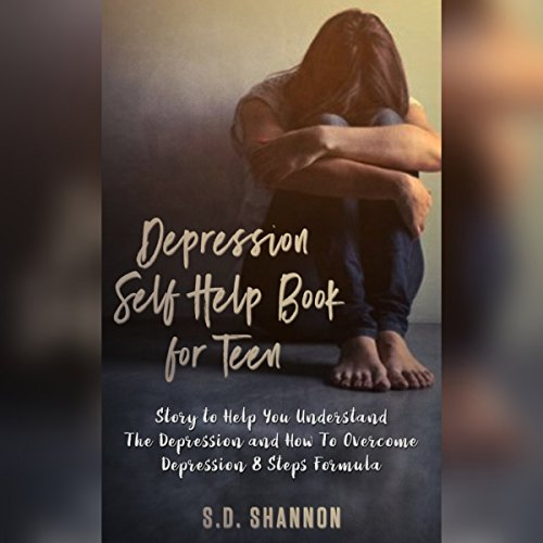 Depression Self Help Book audiobook cover art
