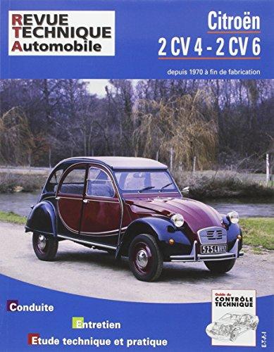 E.T.A.I - Revue Technique Automobile 297.9 - CITROEN 2CV - 1979 à 1990