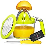 Eurolux 4-in1 Manual Juicer with Victorinox Swiss Made Fruit...