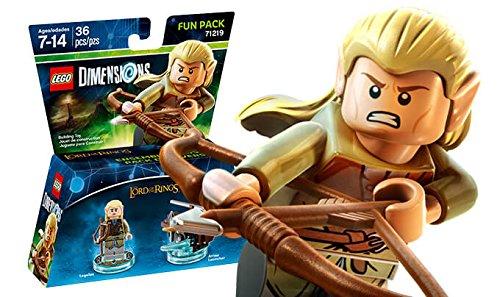 Warner - EGO Dimensions Fun Pack: SDLA Legolas: Lord of the Rings ...