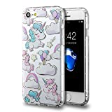 iPhone 7 Unicorn Case/iPhone 8 Unicorn Case, technext020 Cute Slim iPhone 7 / iPhone 8 Soft Flexible Silicone Protective Cover for iPhone 7 / iPhone 8 Unicorn