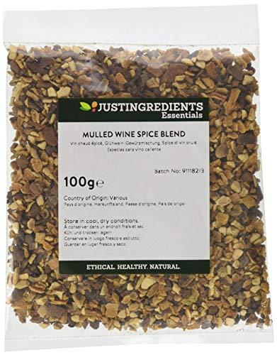 JustIngredients Essential Especias Para Vino Caliente - 5 Paquetes de 100 gr - Total: 500 gr