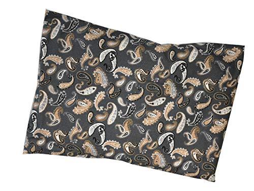 CareLiv Dinkelkissen mit Bezug Nackenkissen Kissen Körnerkissen Wärmekissen (30 x 40, Muster 3)