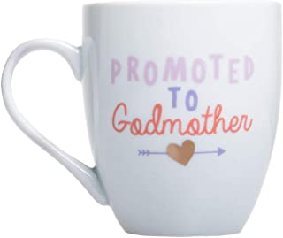 Best Pearhead Promoted to Godmother Mug, Godmother Proposal Gift, White Review