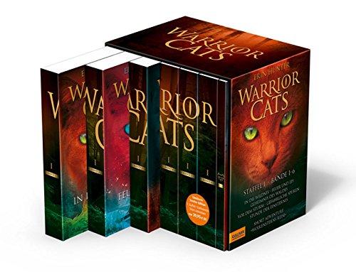 Warrior Cats. Staffel I, Band 1-6 plus exklusives Short Adventure »Wolkensterns Reise«: I, Band 1-6 mit exklusivem Short-Adventure