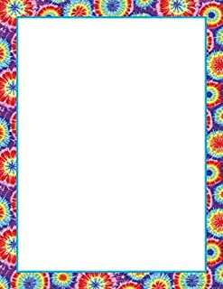 Barker Creek - Office Products 8-1/2 x 11 Designer Computer Paper, Tie-Dye, 50-Sheets (LL-715) by Barker Creek - Office Products