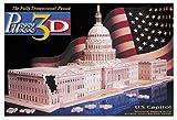 Puzz 3D 718 pc U.S Capitol 3d puzzle by Milton Bradley
