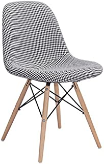 Zuo Sappy Dining Chair, Houndstooth