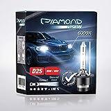 2x D2S 35W 85V 6000K Diamond Vision HID Bi Xenon...