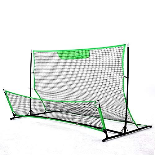 SongMyao Elite-FußBalltore Fußballtraining Netzwerk Hohe Und Niedrige Fußball-Rebound-Netto-Tennis-Ziel Fußballtor Trainingsgeräte (Color : C1, Size : 203 * 117 * 117cm)