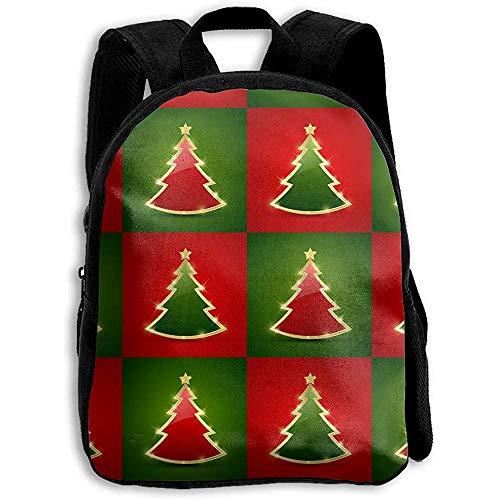 Schulrucksack Rentier Lustige Weihnachtsmann Lebkuchen Kinder Rucksack Umhängetasche Jungen Schule Mädchen Print Daypack Bookbag Casual