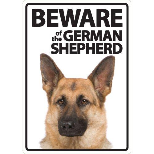 Magnet & Steel Panneau « Beware of The German Shepherd ».