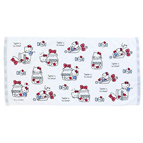 Marushin 81868-2 Sanrio Hello Kitty Candy - Toalla de baño