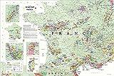 JYTD 1000 Pièces Adulte en Bois Jigsaw-Cadeau-DIY Décoratif Jigsaw Cadeau Puzzle Jeu Casual Toy-De Long's France Carte des Vins 75 * 50 CM