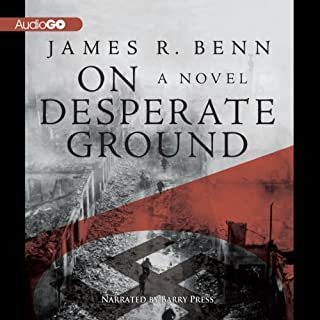 On Desperate Ground audiobook cover art