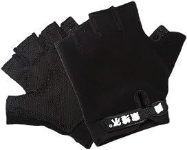 Abaodam 1 paar sport ademende halve vinger fitness handschoenen anti-slip workout handschoenen