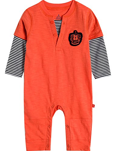 Vaenait baby - Grenouillère - Bébé (garçon) 0 à 24 Mois - Orange - L