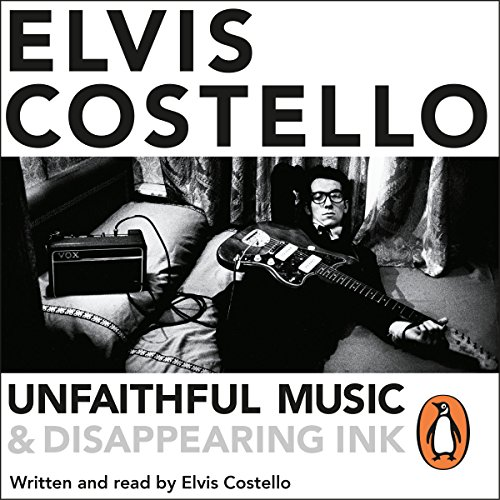 Unfaithful Music and Disappearing Ink audiobook cover art