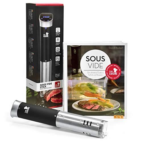 Team Cuisine Sous Vide Garer incluye el libro de cocina