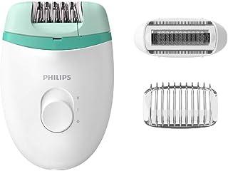 Depilador removedor eletrico Satinelle essential, 2 velocidades, Branco e Verde, Bivolt -Philips