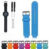 iFeeker Zubehör Luftloch Stil Weichen Silikon Smart Watch Strap Ersatz Uhrenarmband für Garmin Forerunner 220/230/235/630/620/735XT Sport GPS Laufuhr