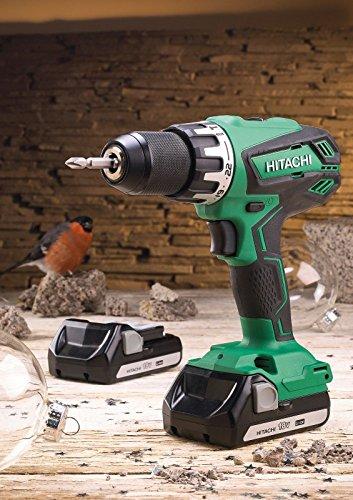 Hitachi DV18DGAL Combi Drill 18 Volt 2 x 1.5Ah Li-Ion XMS17HIT18V