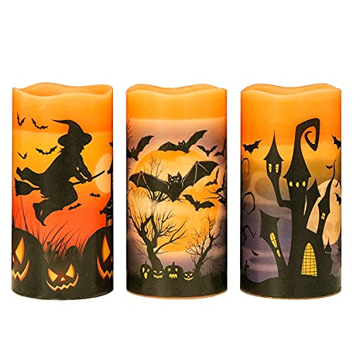 Halloween Flameless LED Candles
