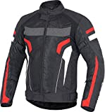 Vykon Induction Jacket: Black/Red/White (Large)