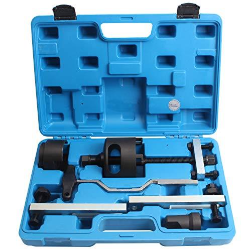 CCLIFE DSG Doppelkupplungsgetriebe Geriebe Doppelkupplung Kupplung Abzieher Werkzeug Kompatibel mit Audi VW 7 Gang T10373 T10376 T10323
