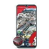 atFolix Schutzfolie kompatibel mit Kiano Elegance 6.1 Pro Folie, entspiegelnde & Flexible FX Bildschirmschutzfolie (3X)