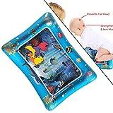 Aufblasbares Wasserspielmatte - Aufblasbare Baby-Wassermatte Fun Activity Play Center dauerhaft Perfekter Spaß für Kleinkinder und Kleinkinder Stimulationswachstum für Kinder und Kleinkinder (Blau-B) -
