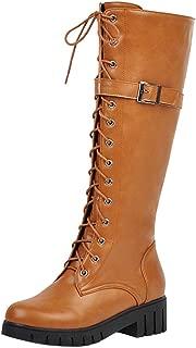JOJONUNU Women Fashion Knee Boots