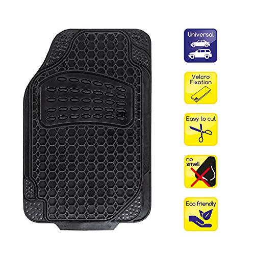 alca® Auto Fußmatte Universal zuschneidbar Gummimatte Fahrerseite…