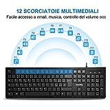 Zoom IMG-1 victsing vtpc206abit tastiera pc italiana