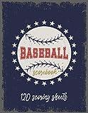 Baseball Scorebook: Baseball Log...