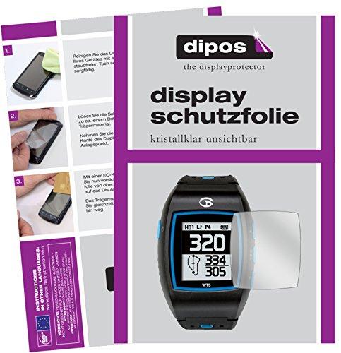 dipos I 6X Schutzfolie klar kompatibel mit Golfbuddy WT5 Folie Displayschutzfolie