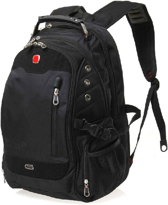DEI QI Men's Backpack 15.6 Inch Computer Backpack Business Backpack High Capacity Waterproof Traveling Backpack