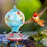 鳥の餌箱を埋める鳥の餌箱、ハチドリのためのユニークな耐久性Bird Home Outdoor(H)