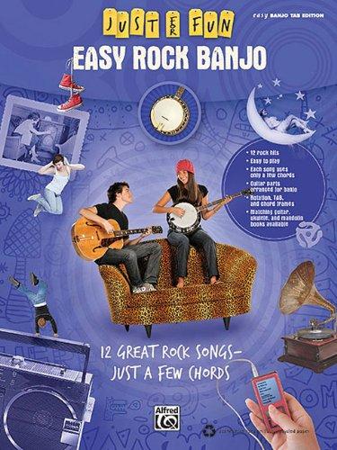 ALFRED PUBLISHING JUST FOR FUN: EASY ROCK BANJO - BANJO