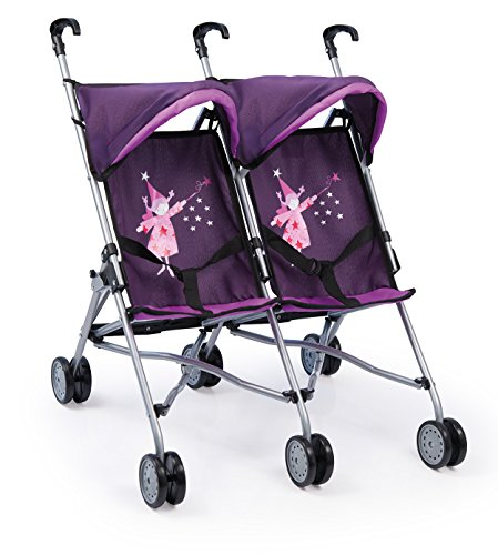 Bayer Design 3021200 - Zwillingsbuggy, lila