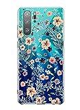 Oihxse Transparente Silicona Case Compatible con Huawei Nova