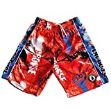Flow Society Mens Lacrosse Attack Short - Mens Athletic Shorts Red